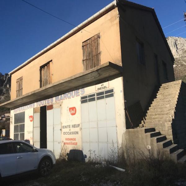 Vente Immobilier Professionnel Local commercial Séranon 06750
